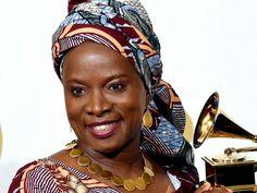 Grammy Award winning singer and song writer, Angélique Kpasseloko Hinto Hounsinou Kandjo Manta Zogbin Kidjo, popularly known as Angélique Kidjo was born on July 14, 1960 and she is a Beninese but resides in New York.   #Angelique Kidjo