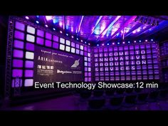 Event Technology Showcase presented by Innovative Production Services (short version) - YouTube