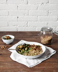 Post image for Blended Grains with Brussels Sprouts + Walnuts | A better happier St. Sebastian