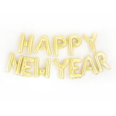 Add our Happy New Year Gold or Silver Mylar Letter Balloons to your New Years Eve Party! They make the perfect statement banner or party decoration.⭐︎ Contains