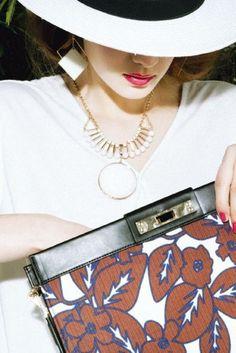Murua 【FEMININE】サークルレトロN/C / Circle Retro Necklace on ShopStyle