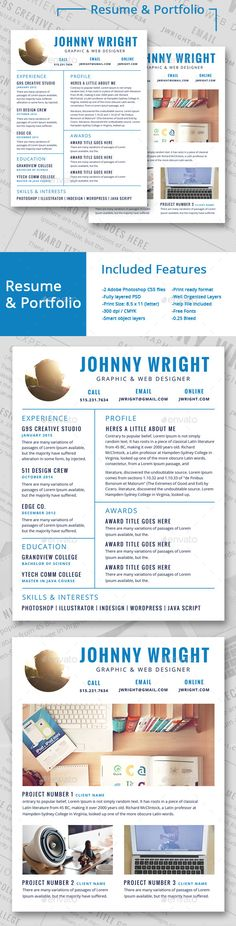 Professional Resume Template SN-3 More Professional resume