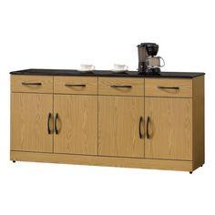 H&D  奧伯倫栓木5.5尺黑石面碗碟櫃/餐櫃下座收納擺放好輕鬆 木質色澤、黑色石面,沉穩有質感 是富有獨特魅力的一款單品 線條溫潤親和,提升生活品味 具風格的設計,找回最純粹美感 專人送到府/簡易組裝