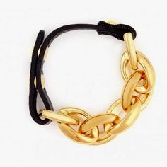 Chain link golden bracelet for girls | Fashion and styles
