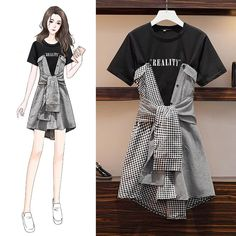 Kpop Fashion Outfits, Korean Outfits, Fashion Drawing Dresses, Fashion Dresses, Drawing Fashion, Mode Kawaii, Dress Sketches, Fashion Figures, Fashion Design Sketches