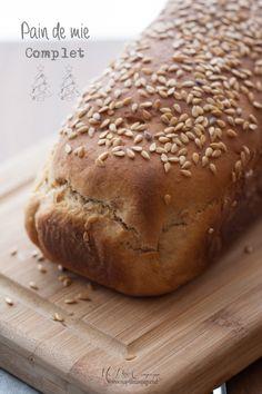 Pain de mie aux flocons d avoine recette pain d pices mie et pain - Pain de mie machine a pain ...