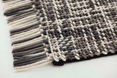 Lama Rug Grey 1 by GAN | Rugs / Designer rugs