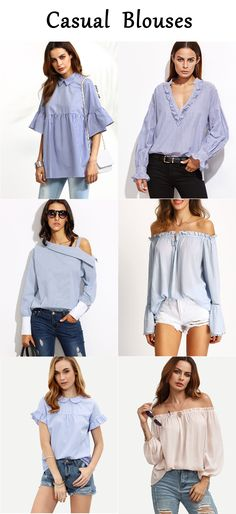 Spring calls for blouse around!
