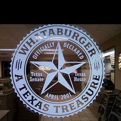 Whataburger... it's a Texas thing. First place we took our son after he got off the plane from his vacation to California.