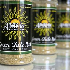 Green Chile Rub – OMG good!!!! AlbuKirky Seasonings