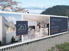 Image result for creative property hoarding design