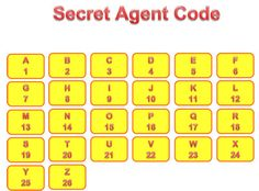 Adding Machine Activities - fun ways to use an adding machine at home and a printable secret agent code.