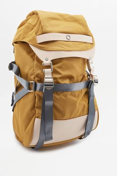 Slide View: 2: Stighlorgan Plato Yellow Backpack
