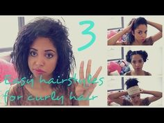3 quick, easy and cool hairstyles for frizzy and curly hair! Thumbs up if you like! and don't forget to subscribe ;) xx My hangouts - FOLLOW ME! i'd love for...