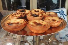 Pastel de nata. comidas tipicas de portugal