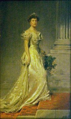 Princess Clémentine by Emile Charles Wauters (Charlier Museum - Bruxelles Belgium)