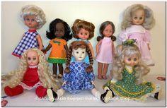 Κούκλες 1950's έως 1980's Διάφορες κούκλες κυρίως ελληνικές από διάφορες δεκαετίες.