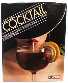 Cinzano Book of Cocktails 1980 retro kitsch by CollectableMrJones