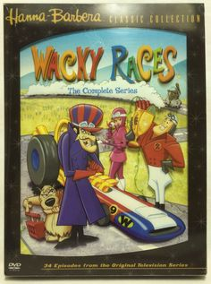 Wacky Races - The Complete Series DVD 3-Disc Set Hanna-Barbera Classic Collecti