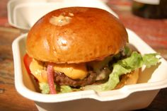 Patty & Bun burger