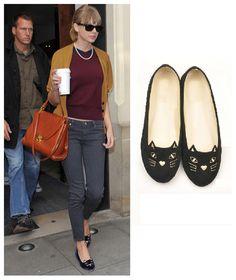 374a31d9992 18 Best Celebrity Flat Shoes images