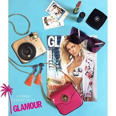 ESSENTIALS Summer must have #ThisIsGlamour #summer #enjoy #essentials #mustHave #fujifilminstax @fujifilmitalia #polaroid #EmporioArmani #gucci #chanel #fujifilminstax #emiliopucci  via GLAMOUR ITALIA MAGAZINE OFFICIAL INSTAGRAM - Celebrity  Fashion  Haute Couture  Advertising  Culture  Beauty  Editorial Photography  Magazine Covers  Supermodels  Runway Models