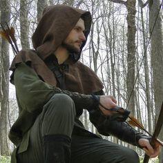 Archer / ranger costume, made by folkofthewood on Etsy  Robin hood, medieval…