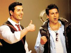 Abhishek Bachchan Varun Dhawan or Akshay Kumar  who does John Abraham look best alongside?