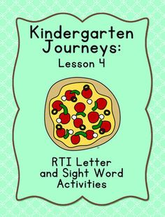 These activities are designed to review the letters and sight word covered in Lesson 4 of the Kindergarten Journeys series: m, and. I design...
