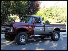1965 Ford  Pickup Mod This is the kind of truck I want to build one day!