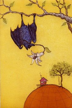 St. Gabriel as a Bat by Ray Maseman
