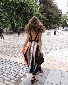 Stripes, sequins & rainbow hues (hello, favorite things)