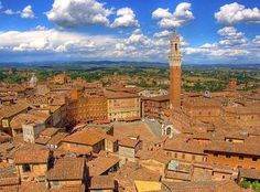 Charming and welcoming apartments on the 4th and last floor of an ancient convent dating back to the 13th century, situated in the center of Siena in Tuscany. #travel #villas #vacation rentals #self-catering #italy