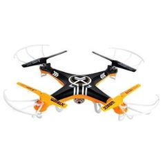 Swann QuadForce Video Drone with Camera - Indoor/Outdoor, MicroSD 2GB, Wireless Remote, 2.4GHz Frequency - XCTOY-QVDRON-