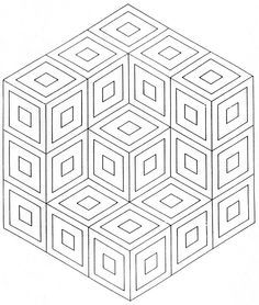 op art coloring pages google search - Artwork Coloring Pages