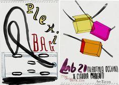 LAB 21 by valentina occhini & claudia manetti PLEXIBAG for FIRMA http://www.danielecosta.net/2014/04/coming-sunday-best-of-milan-design-week.html