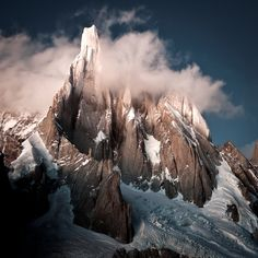 Visiting the place where it all began. Patagonia. Photo: Mikey Schaeffer