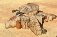 Sentry Gun - Wasteland Scenery - Fallout - Future Wars - 28mm