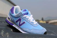 New Balance 515 Women's Blue Purple Running Shoes NB515