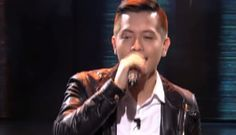 """Jason James Dy, 24 years old, from Butuan City performed his version of """"Stay With Me"""" by Sam Smith on The Voice of the Philippines Season 2 'Blind Auditions' Sunday night, Nov. 9, 2014. WATCH: The Voice Philippines Season 2 'Blind Auditions' Nov. 9 Episode Here. Jason received three-chair turns from coach Lea Salonga, Sarah … Broadway Theatre, Musical Theatre, Broadway Shows, Musicals Broadway, Lea Salonga, Listen To Song, Blind, Stress Busters, Theatre Problems"""