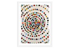 One Kings Lane - Creative Composition - Lourdes Sanchez - Hypnotic Hues I - $99