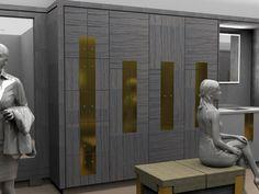 Craftsman Lockers (@CraftsmanLocke2) | Twitter Locker Designs, Gym Lockers, Changing Room, Joinery, Craftsman, Door Handles, Twitter, Interior, Home Decor