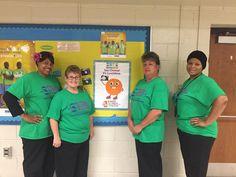Happy National School Lunch Week! #NSLW2015 #ncssbethebest Livingston Elementary- We love our School Nutrition Staff!