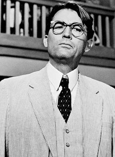 Gregory Peck in To Kill A Mockingbird, 1962.