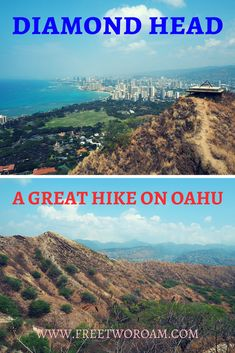While on Oahu, Hawaii, make sure to tackle the Diamond Head summit trail. For a bit of up-front effort, you'll be rewarded with some amazing views! Hawaii Travel, Travel Usa, Oahu Hawaii, Hawaii Hikes, Canada Travel, Places To Travel, Travel Destinations, Travel Stuff, United States Travel