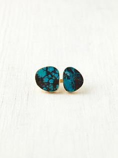 #Free People              #ring                     #Free #People #Double #Turquoise #Lagoon #Ring      Free People Double Turquoise Lagoon Ring                                      http://www.seapai.com/product.aspx?PID=1596342
