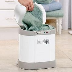Bath towel warmers are the ultimate in home luxury! The Towel Spa warms any towel is less than 5 minutes to give you a luxurious spa experience at home. Imagine stepping out of the bath or shower...
