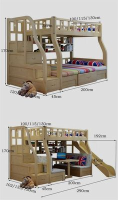 "See our internet site for even more relevant information on ""modern bunk beds for boys room"". It is an outstanding location to read more. Modern Bunk Beds, Cool Bunk Beds, Bunk Beds With Stairs, Kids Bunk Beds, Bunk Bed Plans, Bunk Bed Designs, Loft Spaces, Bed Storage, Extra Storage"