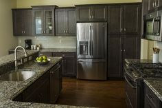 In the design world it's all about setting your project apart from others. Just a simple thing like adding a single glass cabinet can break-up the monotony of continuous cabinet doors. Kitchen Cabinets Showroom, Kitchen Cabinets In Bathroom, York Pa, Next At Home, Cabinet Doors, Kitchen Remodel, Simple, Glass, Design