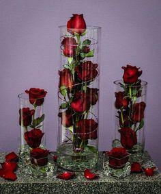 Houston Florist - Same Day Flower Delivery Wedding Table Centerpieces, Diy Wedding Decorations, Christmas Decorations, Rose Centerpieces, Rose Arrangements, Deco Floral, Romantic Flowers, Flower Delivery, Event Decor